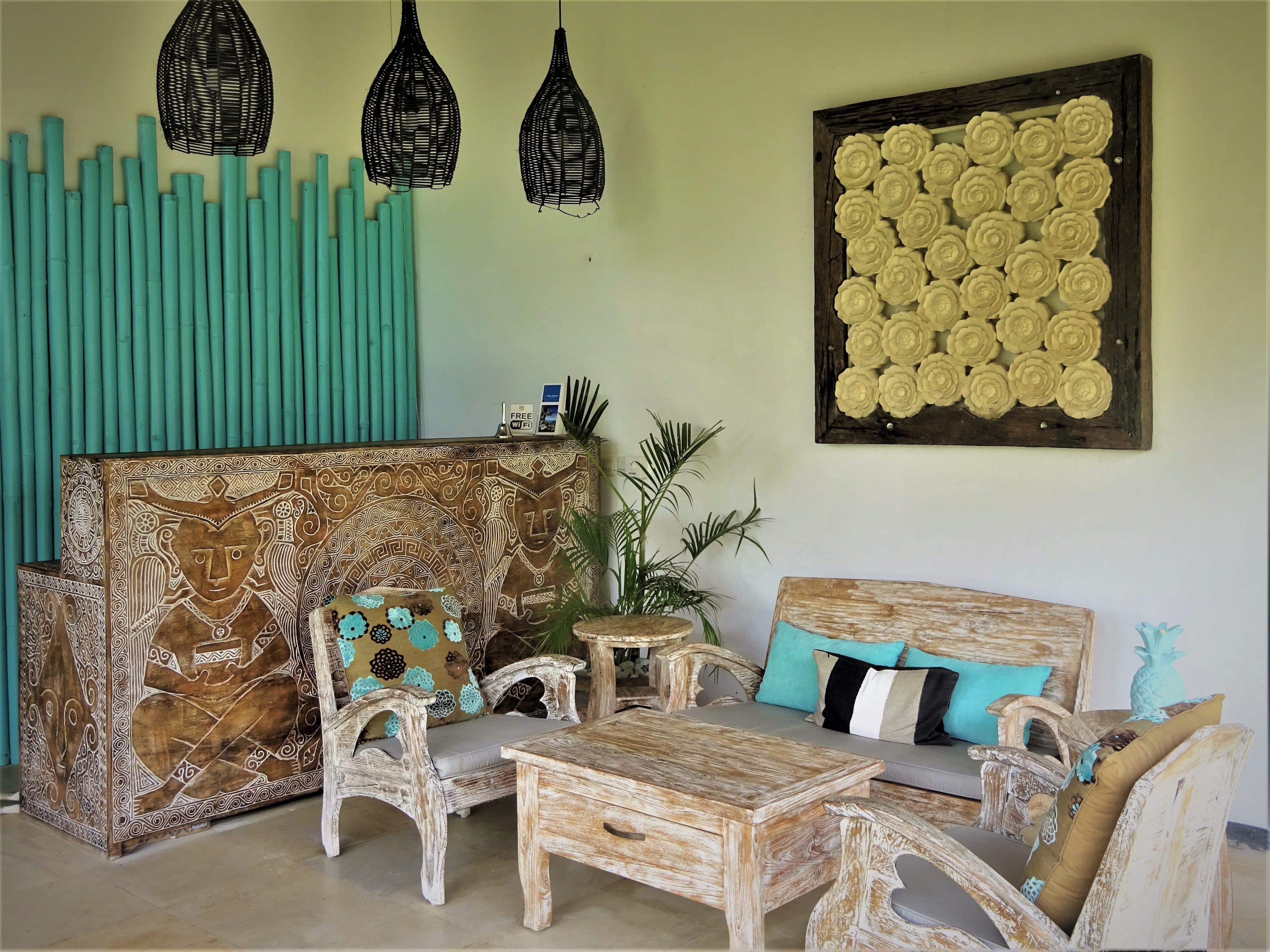 2 bedroom beachfront in villa